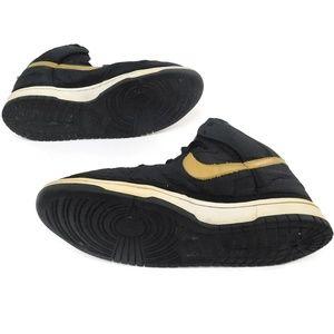 Nike Shoes - Nike Dunk Hi Vandal Premium Black Gold High Shoe
